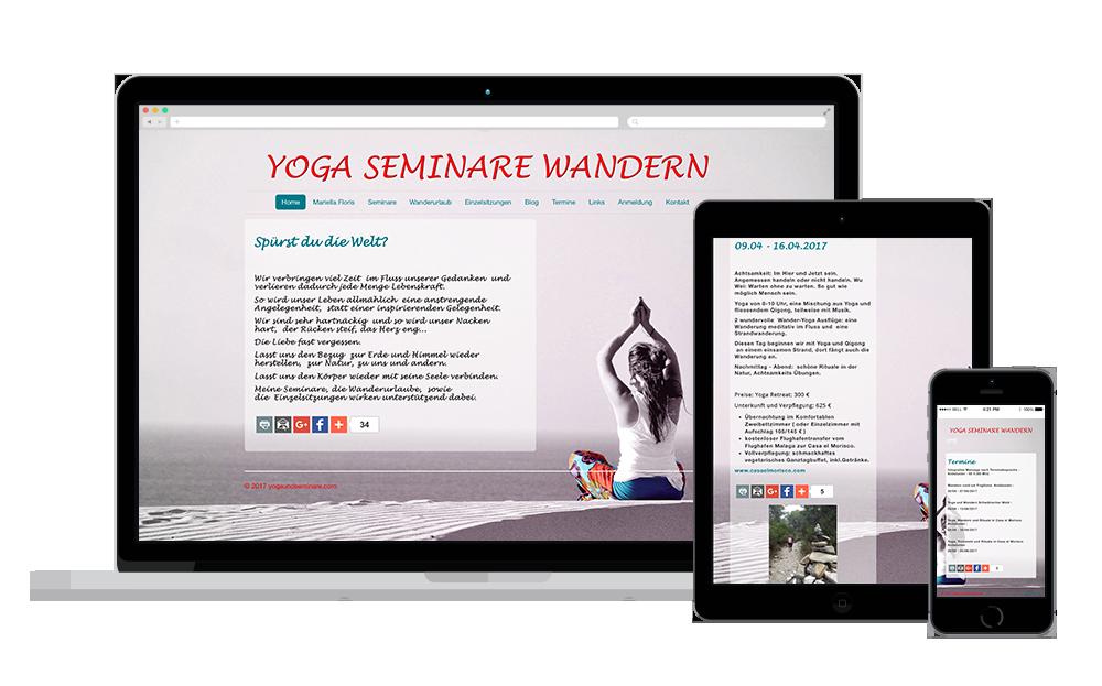 yoga retreats, seminares and workshops